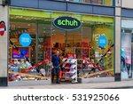 york  uk   june 29  2016  shoe... | Shutterstock . vector #531925066