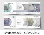 set of business templates for... | Shutterstock .eps vector #531929212