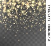 Gold Glitter Particles...