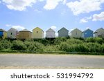 Beach Huts From The Rear...