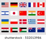 Collection Of Flags Of The...