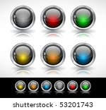 buttons for web | Shutterstock .eps vector #53201743