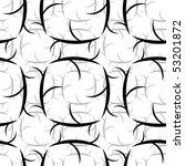 seamless black and white... | Shutterstock . vector #53201872