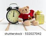 Teddy Bear Wearing Santa Claus...