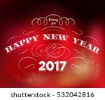 happy new year text design on... | Shutterstock .eps vector #532042816