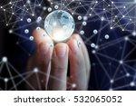 global business network. | Shutterstock . vector #532065052