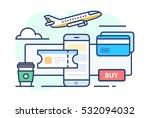 illustration of travel. icon...   Shutterstock .eps vector #532094032