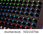 modular synthesizer colorful... | Shutterstock . vector #532110766