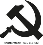 hammer and sickle   communism...