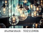 luxury beautiful retro edison... | Shutterstock . vector #532113406