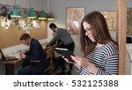 4k. closeup young attractive... | Shutterstock . vector #532125388