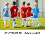 youth soccer training session.... | Shutterstock . vector #532126306