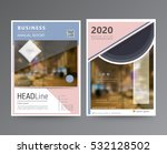 business template for brochure  ... | Shutterstock .eps vector #532128502