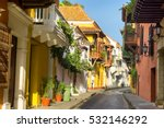 view of a beautiful colonial... | Shutterstock . vector #532146292