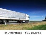 truck transportation   Shutterstock . vector #532153966