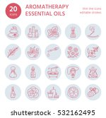 modern vector line icons set of ... | Shutterstock .eps vector #532162495