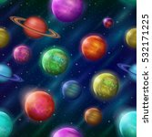 space seamless background with... | Shutterstock .eps vector #532171225
