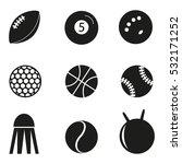 sport vector icons | Shutterstock .eps vector #532171252