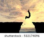 concept conceptual 3d... | Shutterstock . vector #532174096