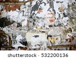 close up of a wall with many... | Shutterstock . vector #532200136
