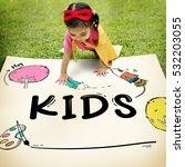 Kids Children Childhood Imagination Concept - Fine Art prints