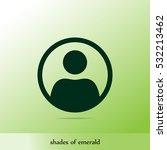 user vector icon | Shutterstock .eps vector #532213462