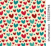 seamless vector pattern with... | Shutterstock .eps vector #532225966