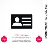 man vector icon  flat design... | Shutterstock .eps vector #532237552
