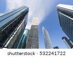 tokyo city scenery skyscraper... | Shutterstock . vector #532241722