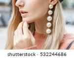 close up detail of beautiful... | Shutterstock . vector #532244686