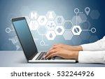 healthcare and medicine. | Shutterstock . vector #532244926