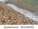 small waves on a sea with soft... | Shutterstock . vector #532246492