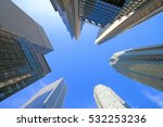 toronto financial district and... | Shutterstock . vector #532253236