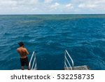 a man about to jump in the... | Shutterstock . vector #532258735