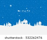 happy new year and merry... | Shutterstock . vector #532262476