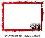 grunge frame texture   abstract ... | Shutterstock .eps vector #532262506