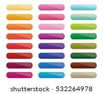 colorful gradient blank buttons | Shutterstock .eps vector #532264978
