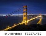 golden gate bridge in san...   Shutterstock . vector #532271482