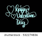 happy valentine's day... | Shutterstock .eps vector #532274836