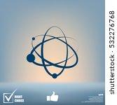 atom icon | Shutterstock .eps vector #532276768