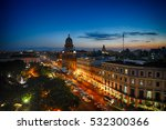 downtown havana at night | Shutterstock . vector #532300366