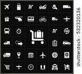 delivery icons universal set... | Shutterstock . vector #532320136