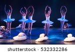 unrecognizable ballet dancers | Shutterstock . vector #532332286