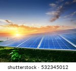 solar energy generation | Shutterstock . vector #532345012