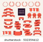 vector collection of decorative ... | Shutterstock .eps vector #532354612
