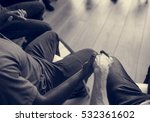 people meeting seminar office... | Shutterstock . vector #532361602