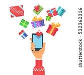 vector illustration of a hand... | Shutterstock .eps vector #532362316