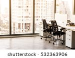 modern office with open space... | Shutterstock . vector #532363906