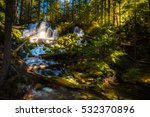 clearwater falls douglas county ... | Shutterstock . vector #532370896