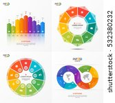 set of vector infographic 9... | Shutterstock .eps vector #532380232